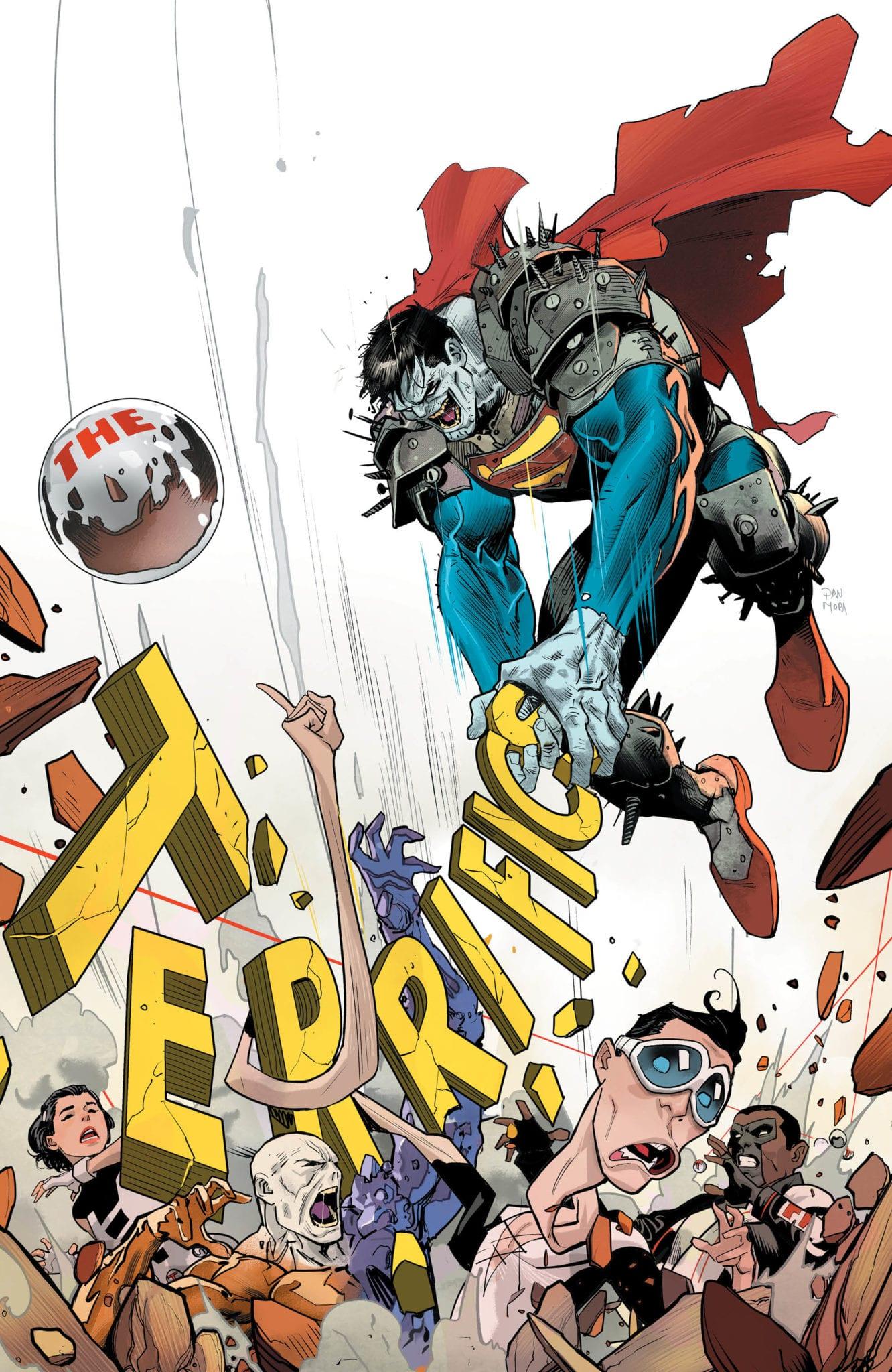 Exclusive DC Comics Preview: THE TERRIFICS #19