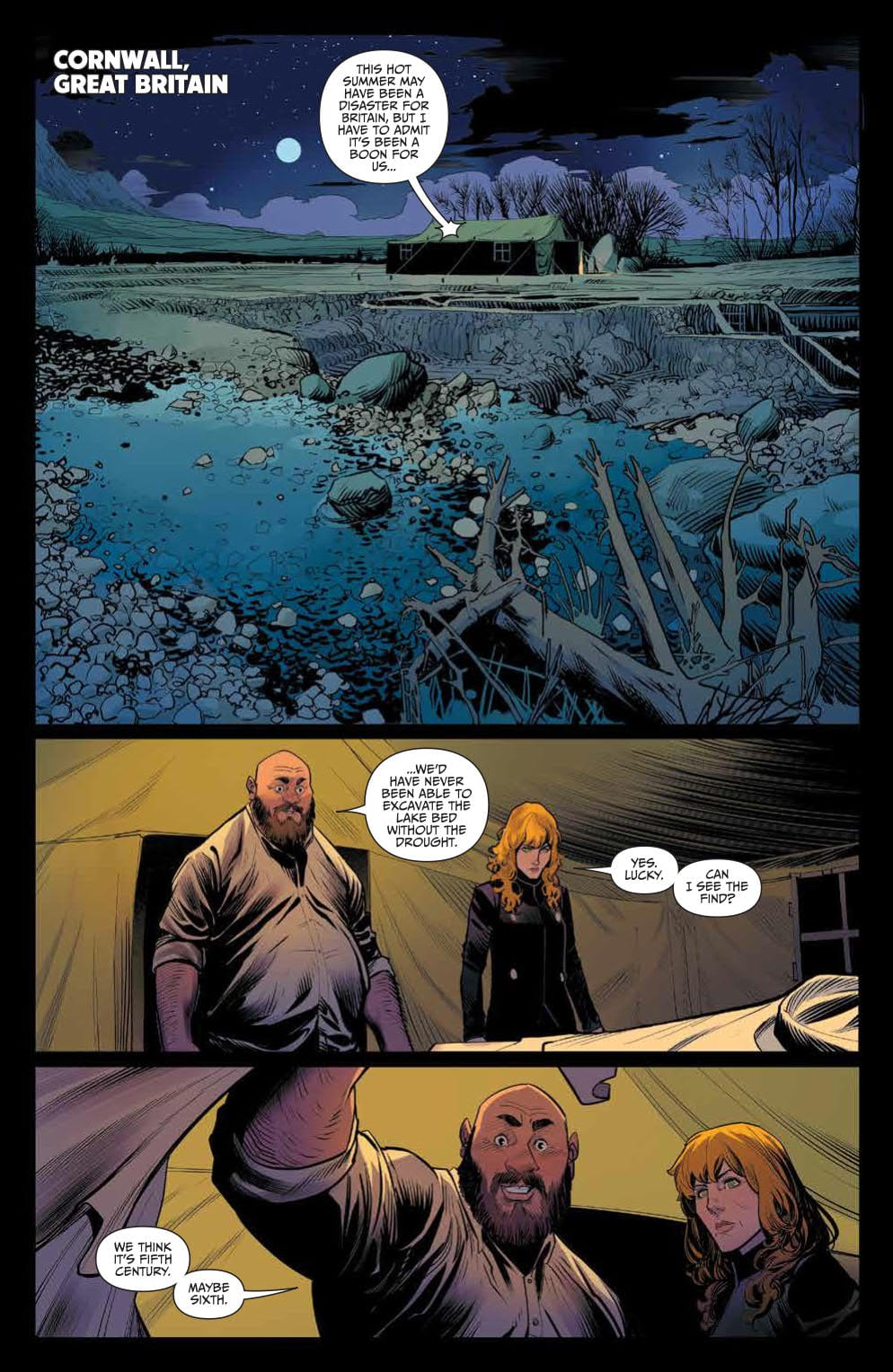 An Arthurian Tale Like You've Never Seen in ONCE & FUTURE #1 4