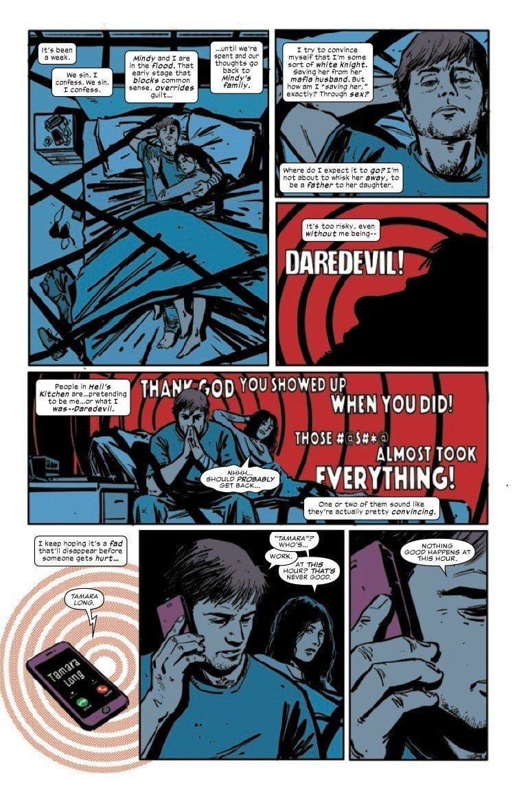 DAREDEVIL #10 - An Exercise In Intensity 1