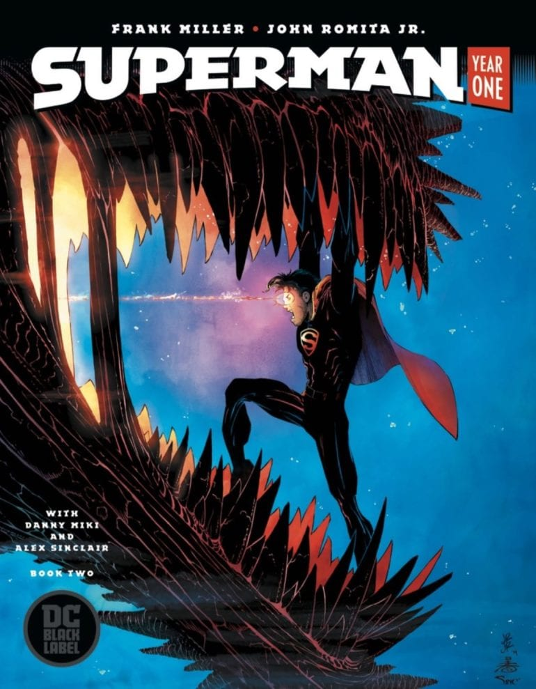 Superman Year One 2 cover