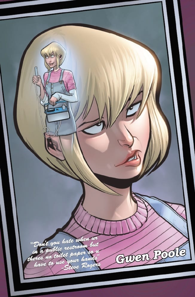 How Gwenpool Plans to Stay Relevant in GWENPOOL STRIKES BACK #1 5