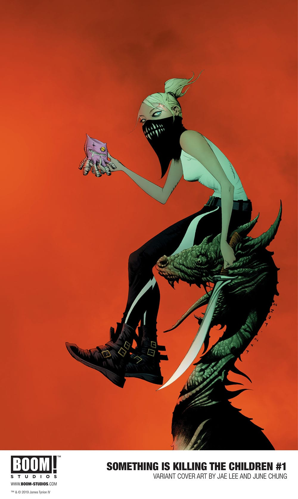 Something is Killing the Children Issue One: Variant Cover by Jae Lee