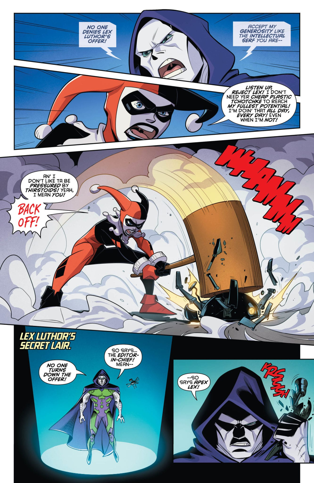 DC Comics Exclusive Preview: HARLEY QUINN #64 - Enter Apex Lex! 5