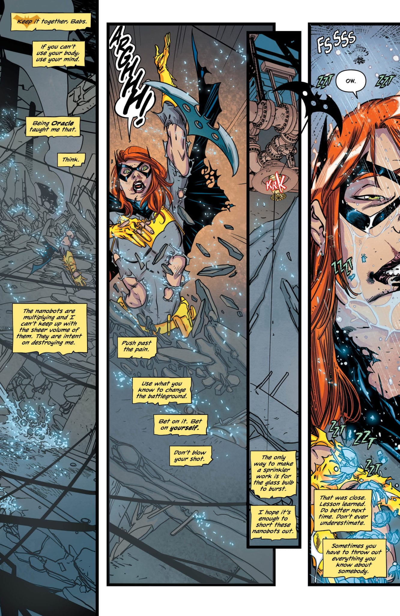 batgirl 38 review dc comics