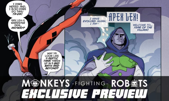 DC Comics Exclusive Preview: Harley Quinn #64 - Enter Apex Lex!