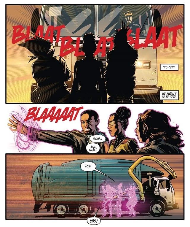 Super Smart Superhero Origin Story in OMNI #1