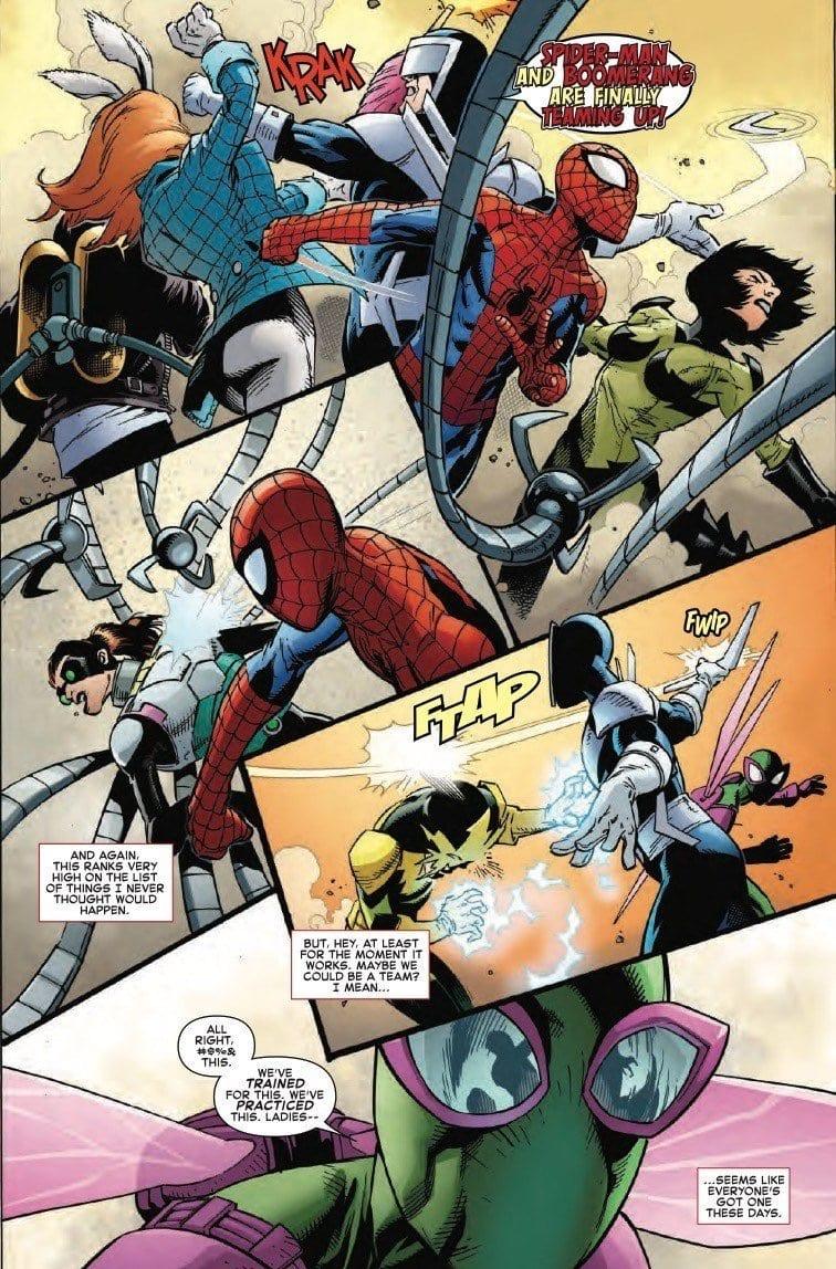 AMAZING SPIDER-MAN #27 - The Boomerang Show 2