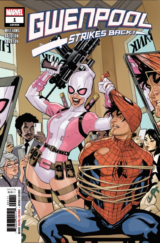 How Gwenpool Plans to Stay Relevant in GWENPOOL STRIKES BACK #1 1