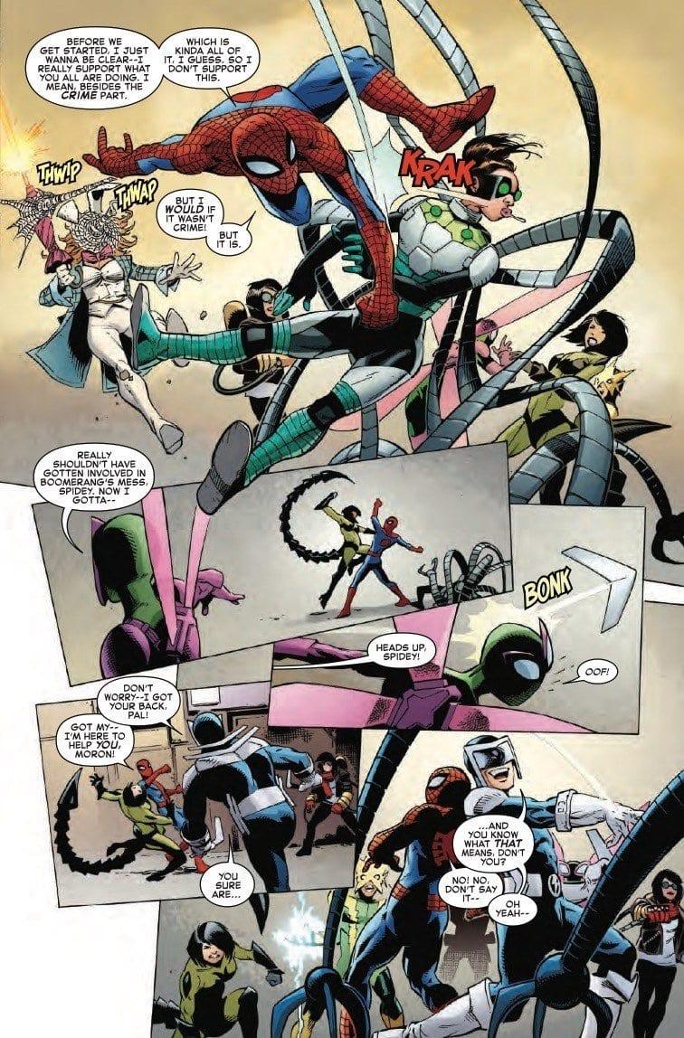 AMAZING SPIDER-MAN #27 - The Boomerang Show 1