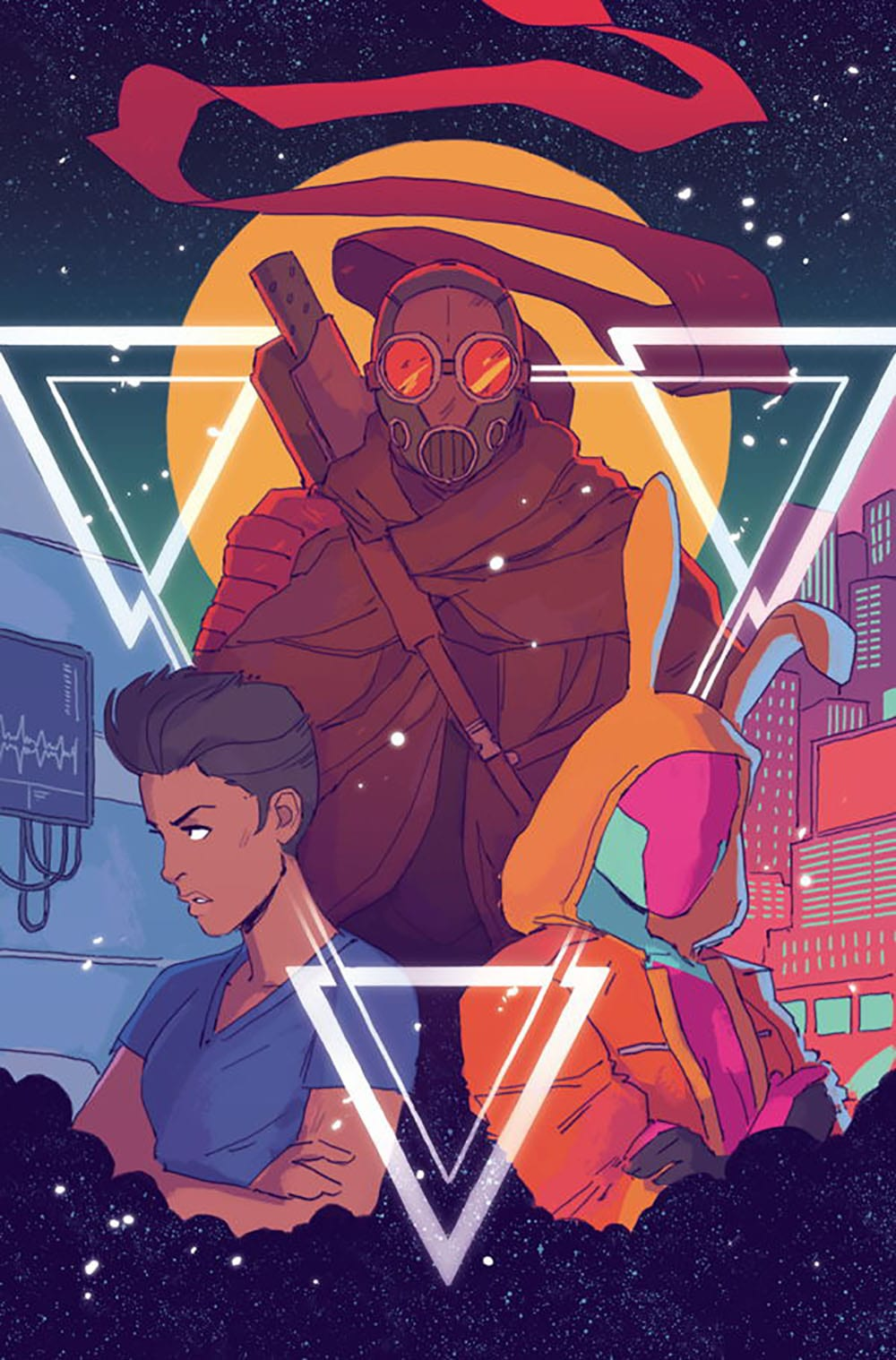 Triage #1: Cover by Hannah Templer, Dark Horse Comics