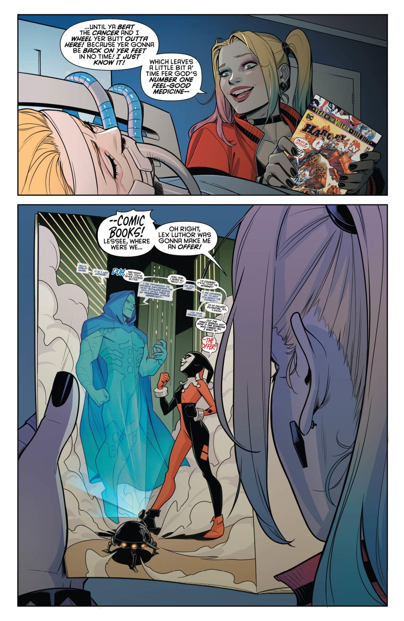 DC Comics Exclusive Preview: HARLEY QUINN #64 - Enter Apex Lex! 2