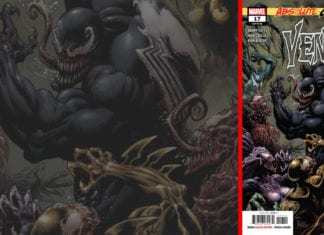 venom #17 marvel comics exclusive preview