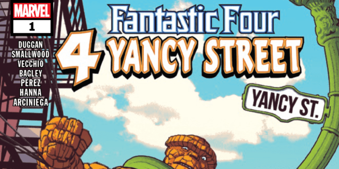 Review: FANTASTIC FOUR 4 YANCY STREET #1 - The Ben Grimm Story We Deserve 7