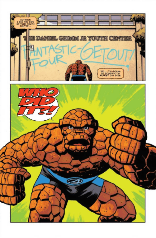 Review: FANTASTIC FOUR 4 YANCY STREET #1 - The Ben Grimm Story We Deserve 2