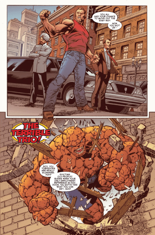 Review: FANTASTIC FOUR 4 YANCY STREET #1 - The Ben Grimm Story We Deserve 3