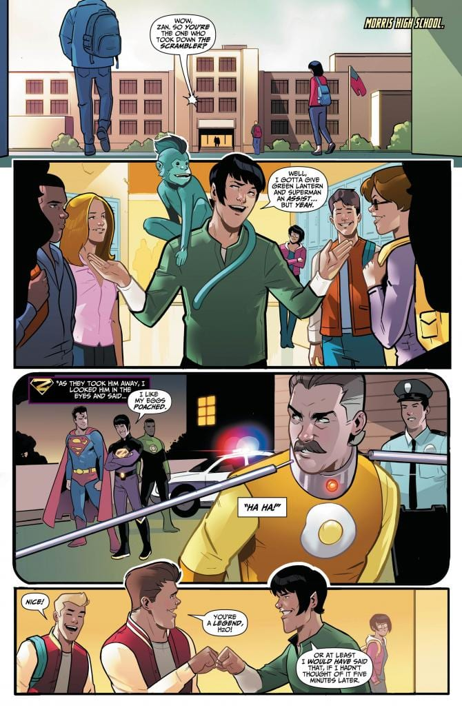 WONDER TWINS #7 Returns With Life Lessons 2