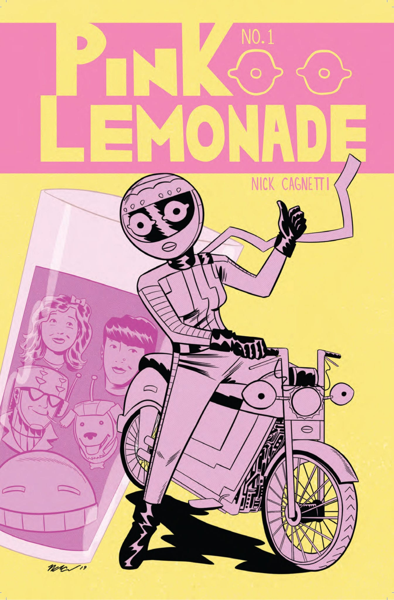 PINK LEMONADE # 1 COVER