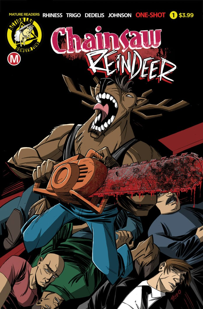 Chainsaw Reindeer #1