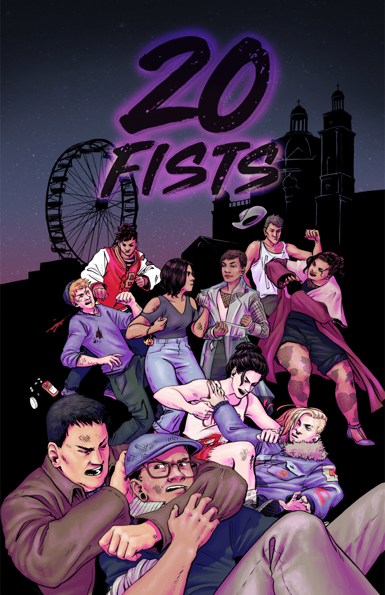 20 Fists #1 Cover