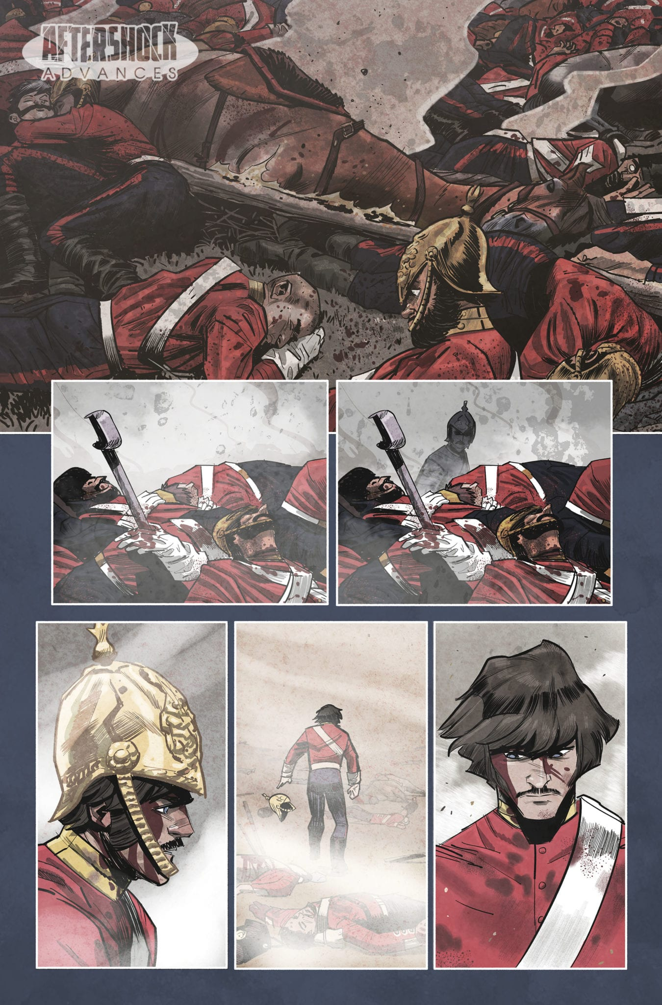 AfterShock Exclusive Preview: KNIGHTS TEMPORAL #3 - Nothing Ever Is As It Seems 1