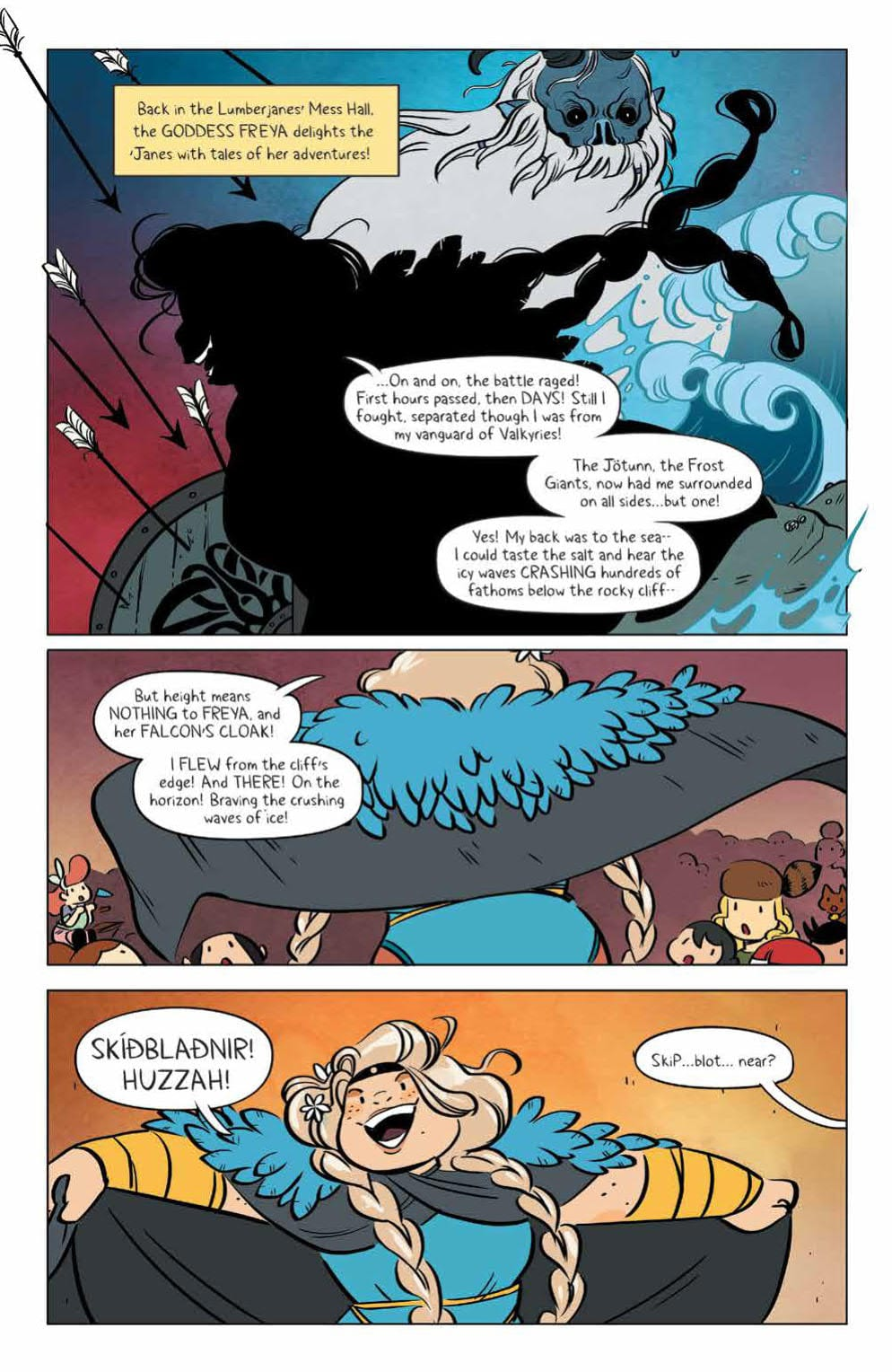 How the Gods Fool Us All in LUMBERJANES #66 4