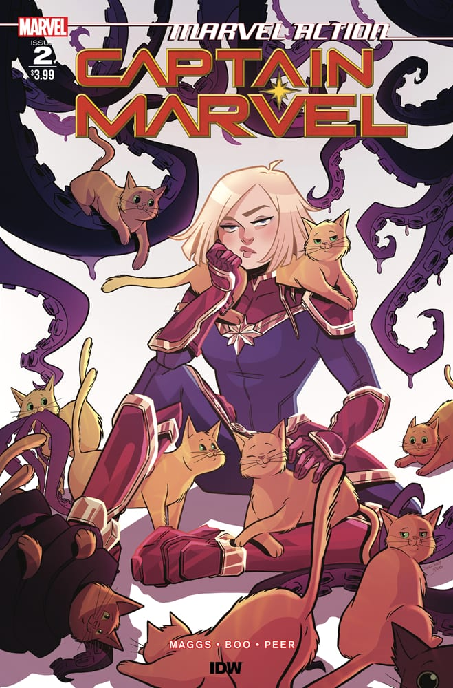 How to Weaponize Cuteness in MARVEL ACTION CAPTAIN MARVEL #2 1