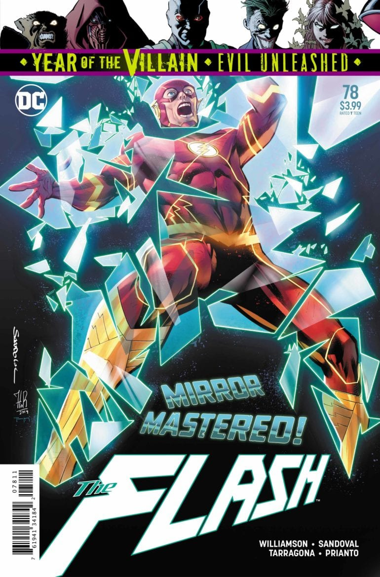 Review The Flash 78 Shows Off The Terror Of The Black Flash