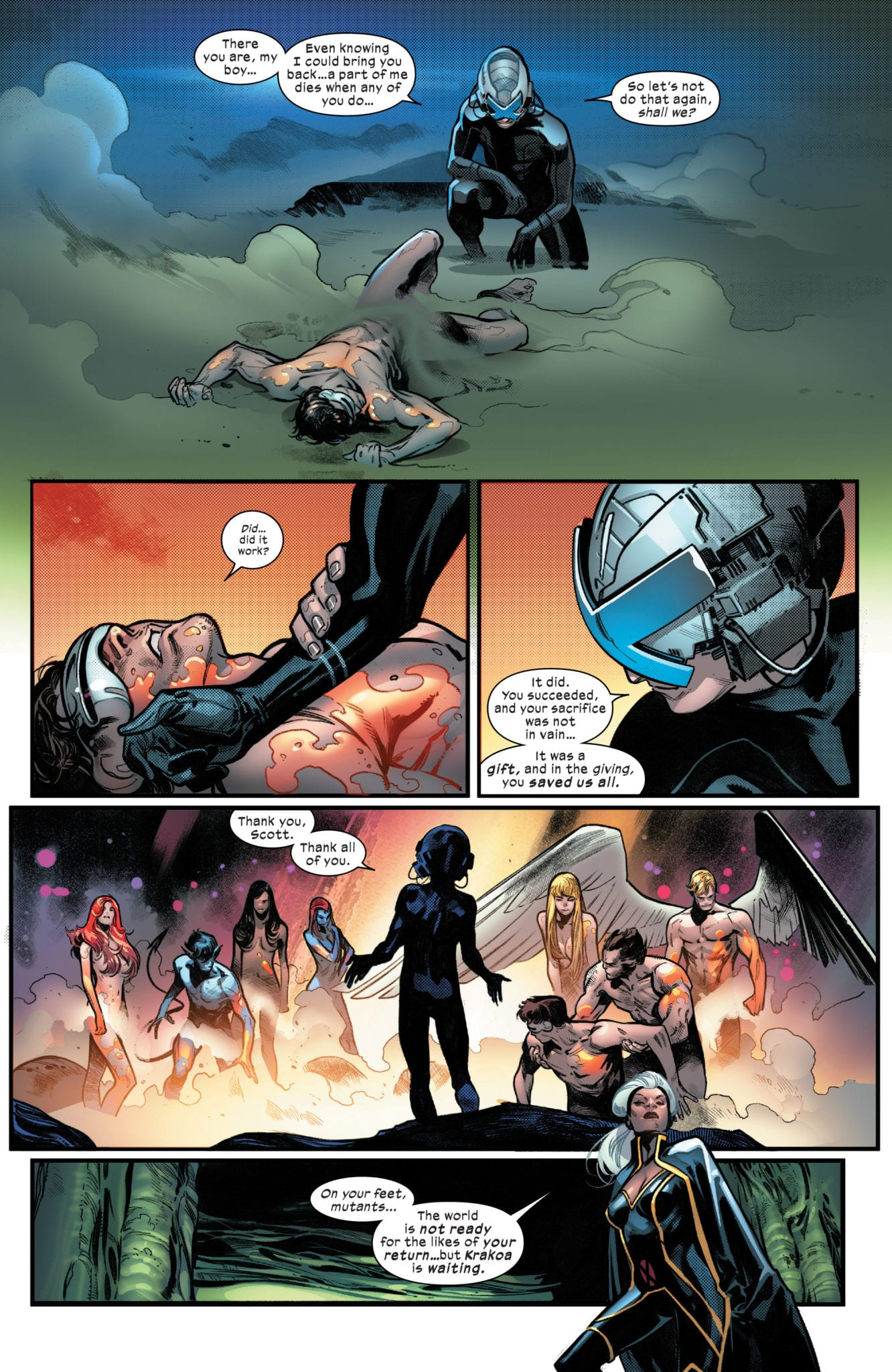 HOUSE OF X #5 - Get Ready For Your Mind To Be Blown 2