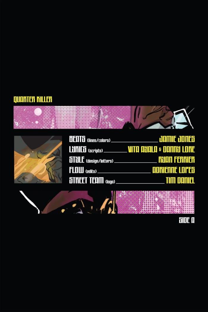 Review: ComiXology's QUARTER KILLER #1 Drops A Funky Beat 1