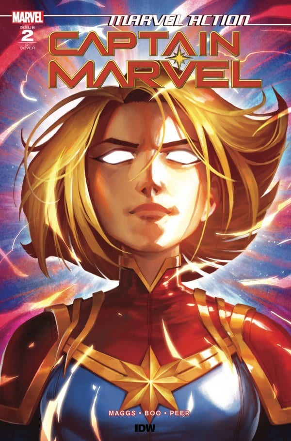 How to Weaponize Cuteness in MARVEL ACTION CAPTAIN MARVEL #2 2