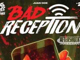 AfterShock Exclusive Preview: BAD RECEPTION #2