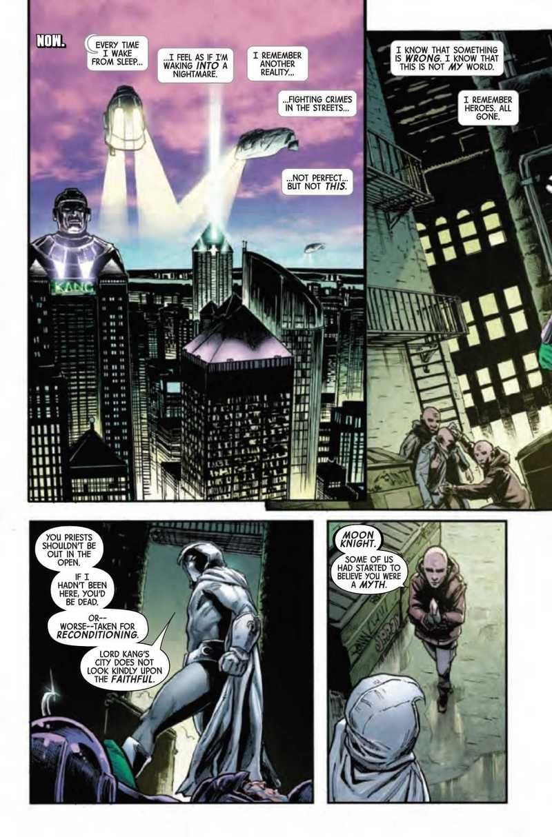 MOON KNIGHT ANNUAL #1 - Moon Knight Unlimited VS Kang The Conqueror 1
