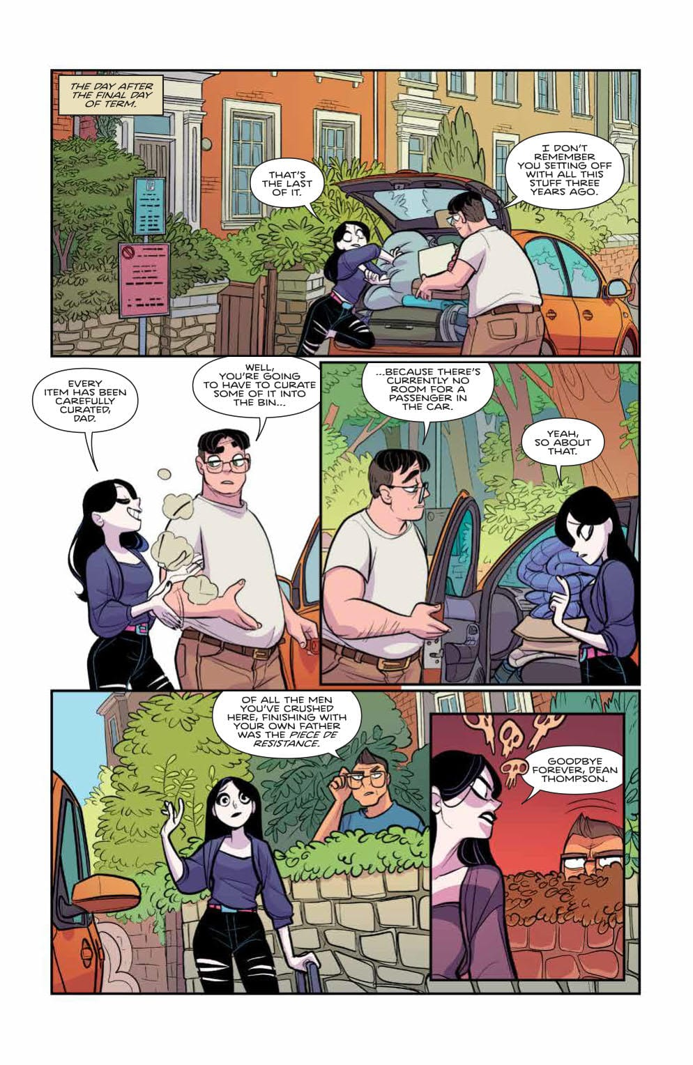 How the Series is Wrapping Up in GIANT DAYS #54 3