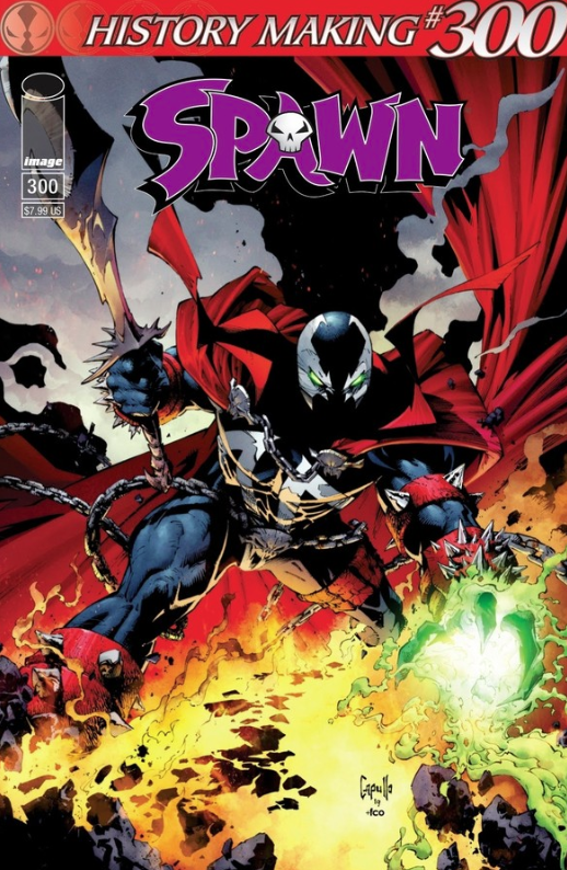Review: SPAWN #300 - History Made and Beautifully Done 1