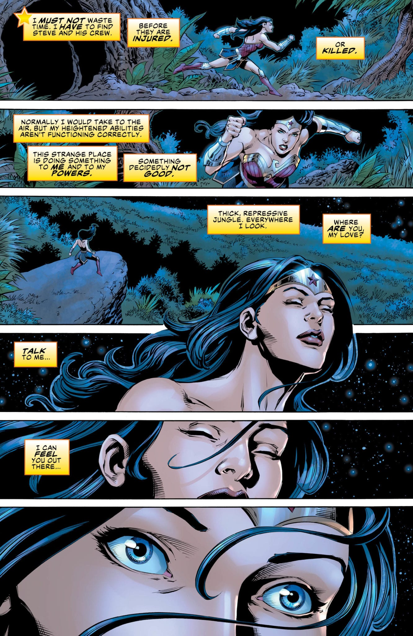 What A Dangerous World In WONDER WOMAN COME BACK TO ME #3 2