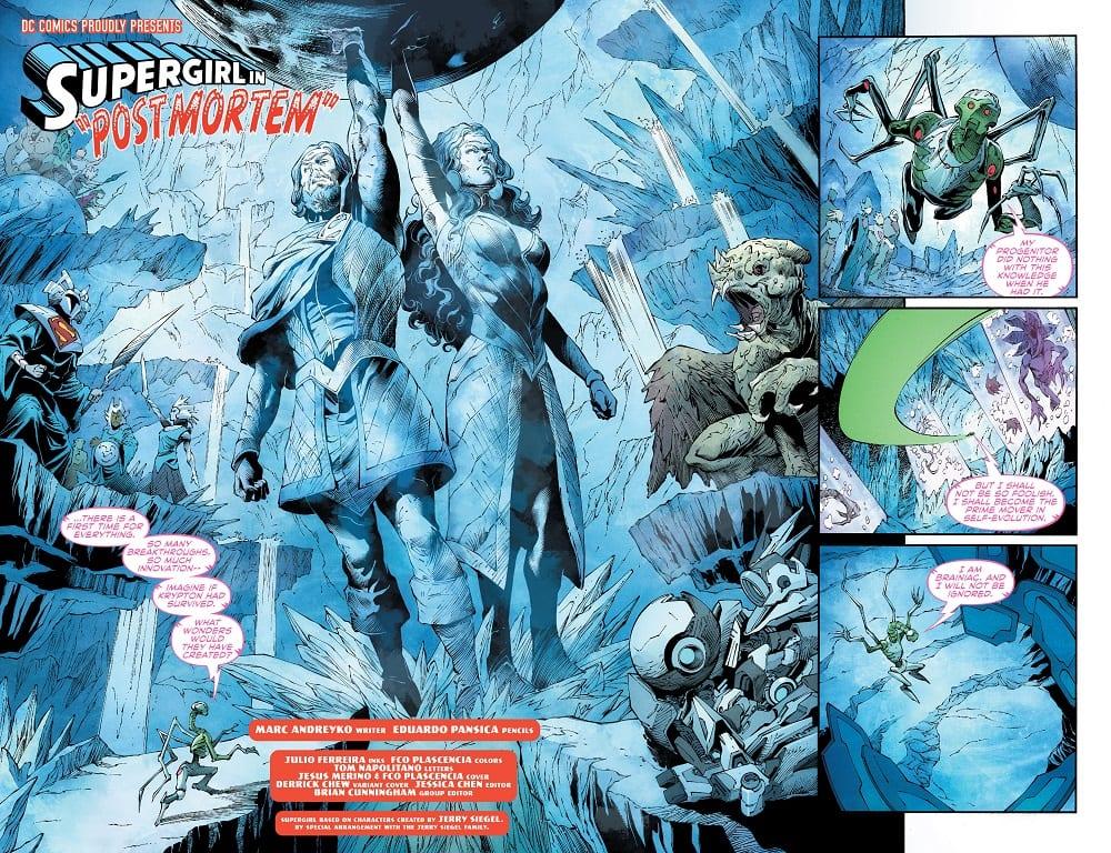 Supergirl #34 Credit: DC Comics