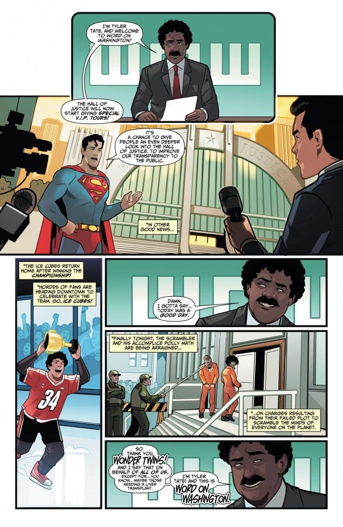 WONDER TWINS #7 Returns With Life Lessons 1