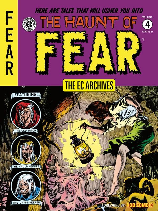 EC with all of its Horror Comics hosts.