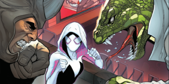 GHOST-SPIDER ANNUAL #1 Visits Murderworld With Action And Heart 5