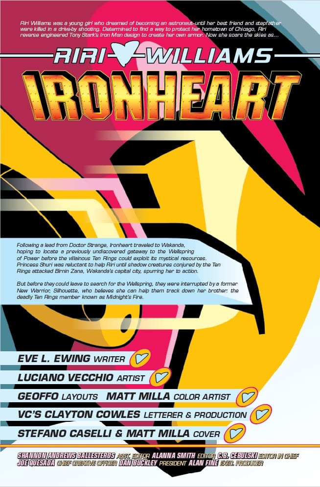A New Team Forms in IRONHEART #10 2