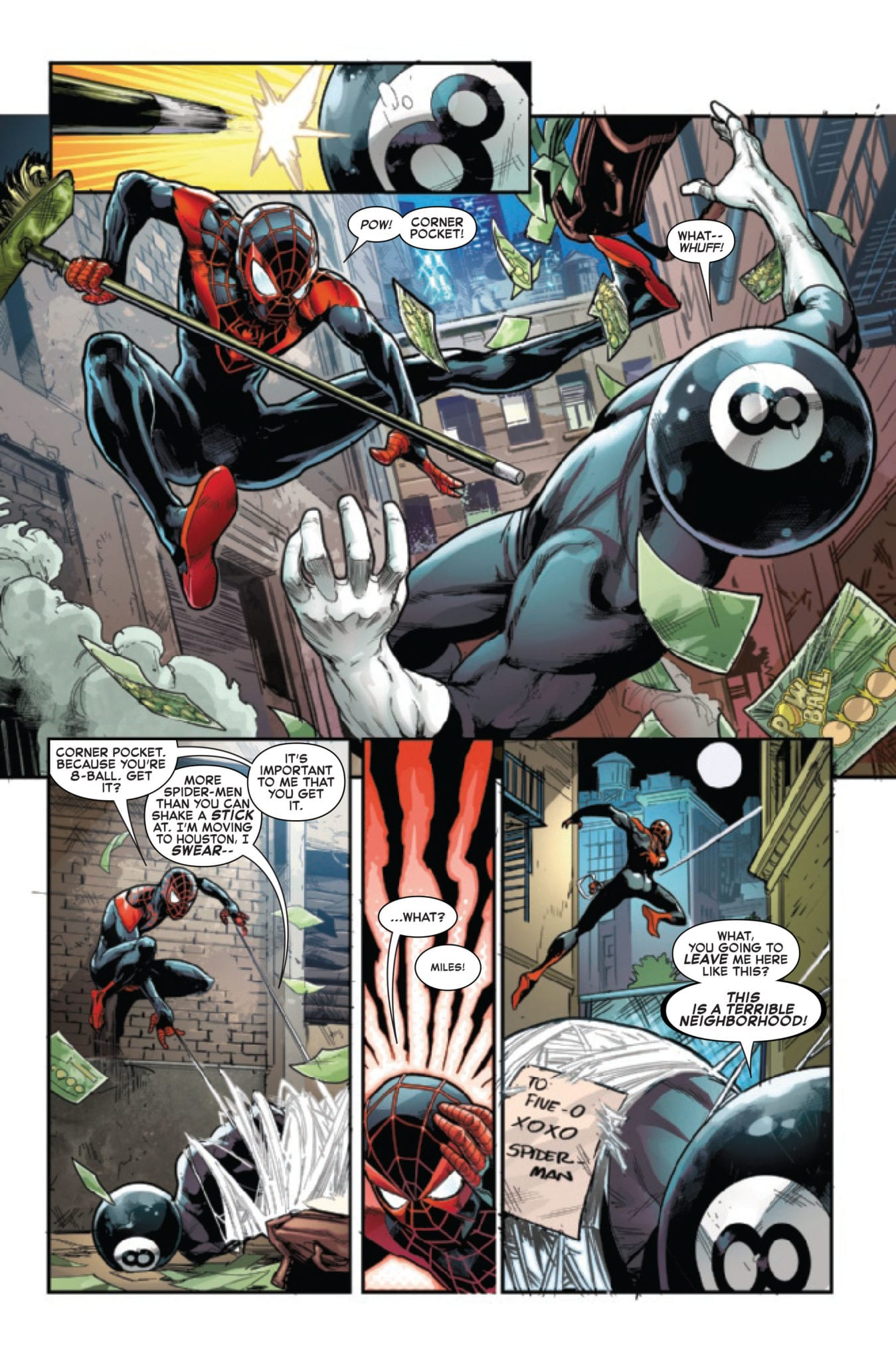 spider-verse marvel comics exclusive preview