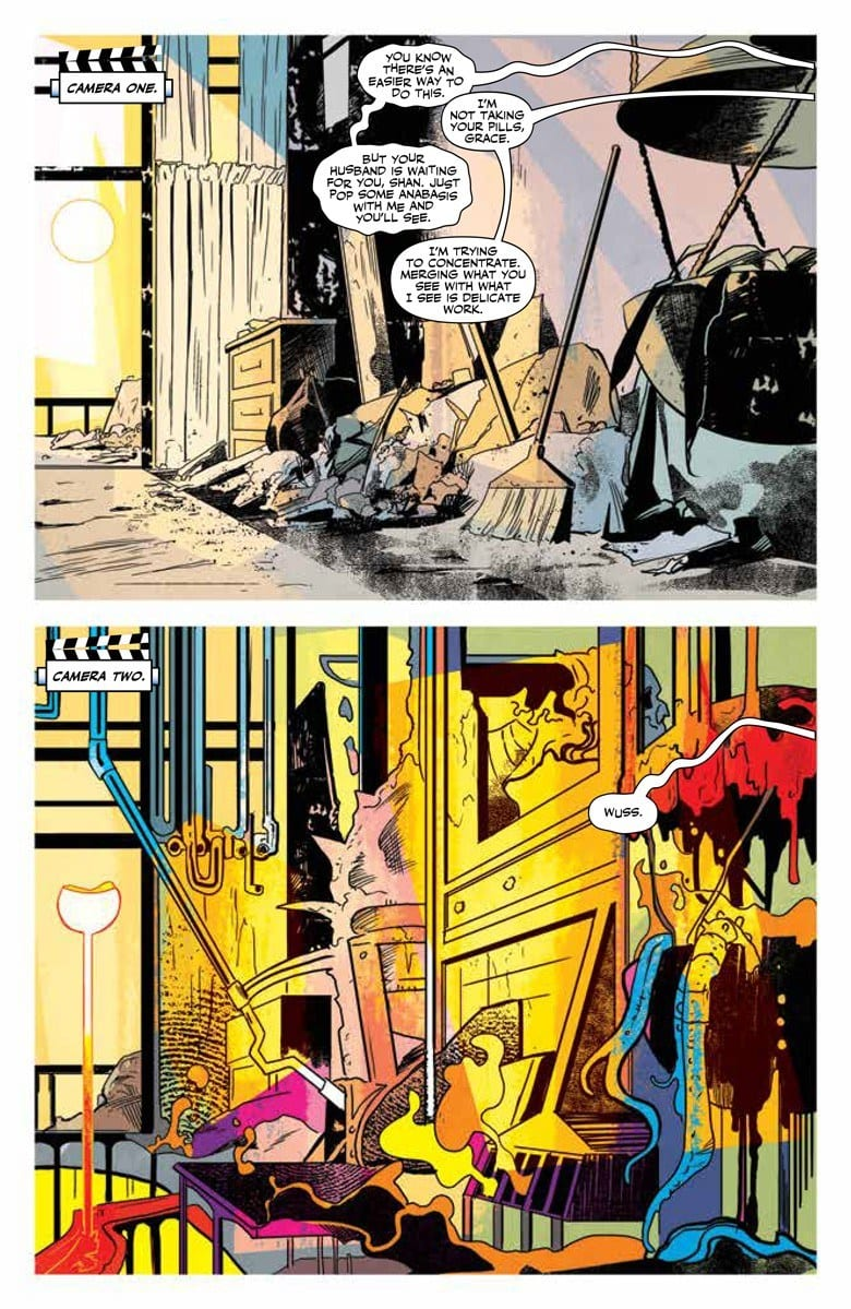 DOCTOR MIRAGE #2 Portrays How Far One Will Go For Love 1