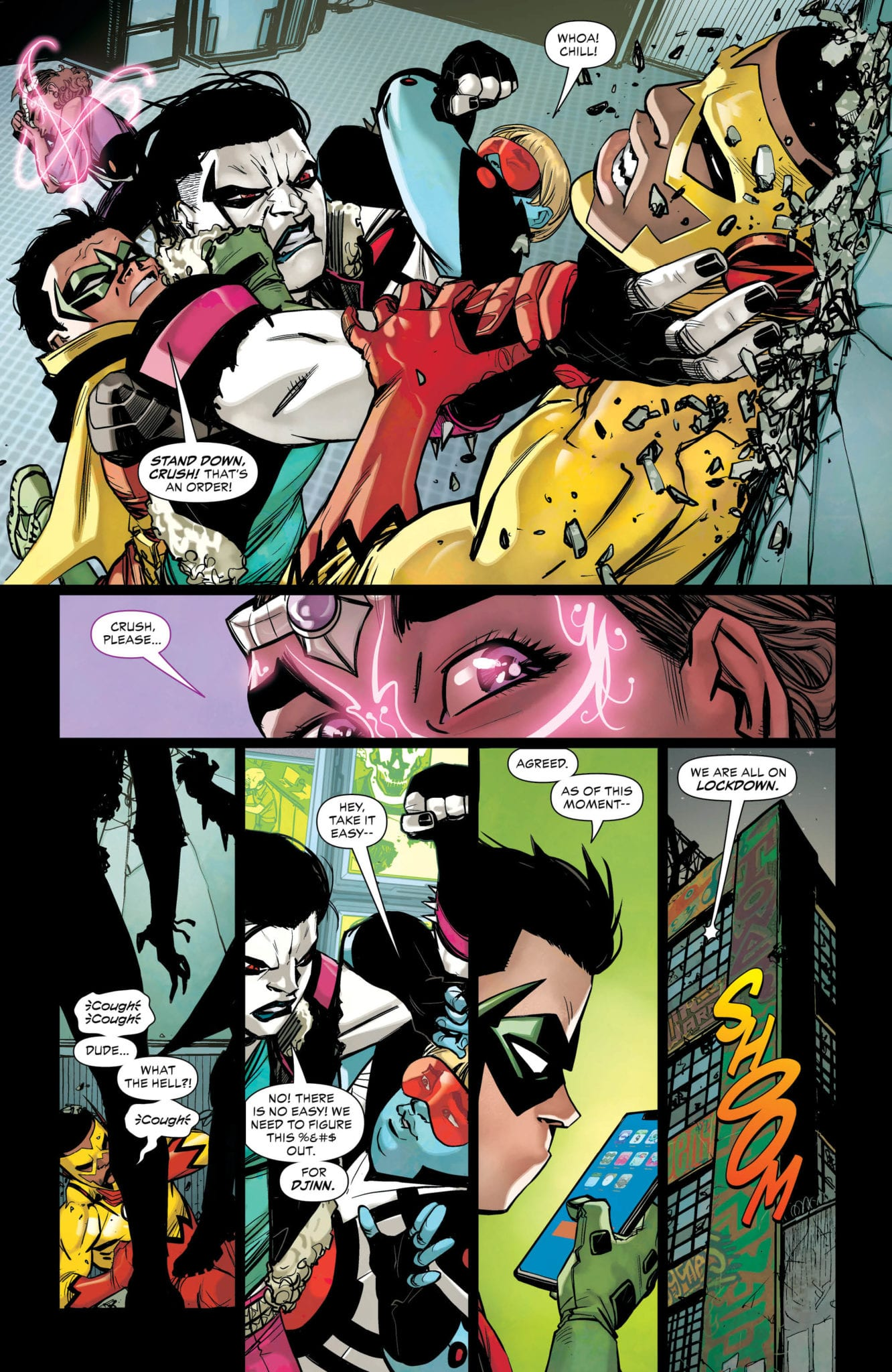 Exclusive DC Preview: TEEN TITANS #34