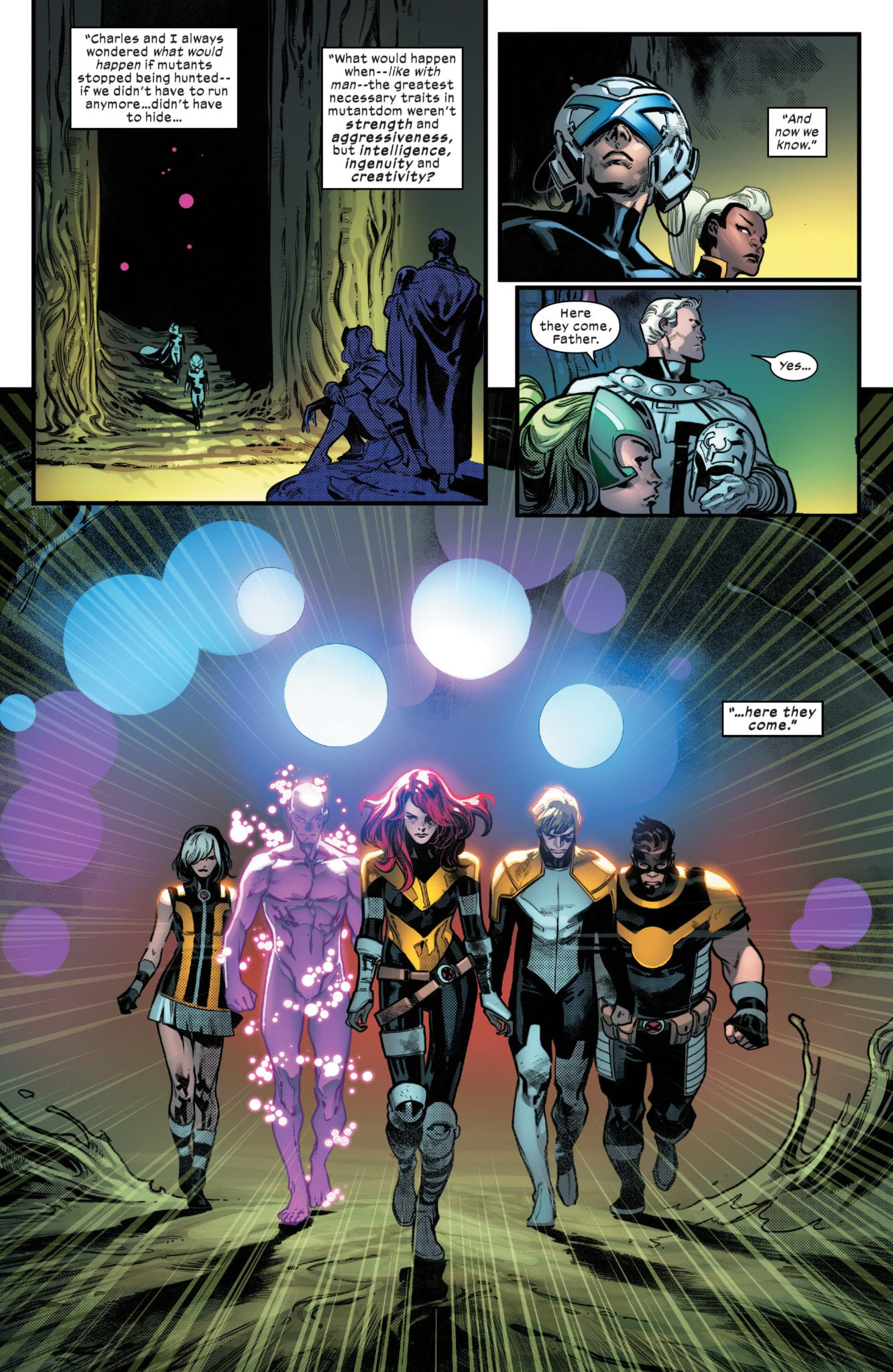 HOUSE OF X #5 - Get Ready For Your Mind To Be Blown 1