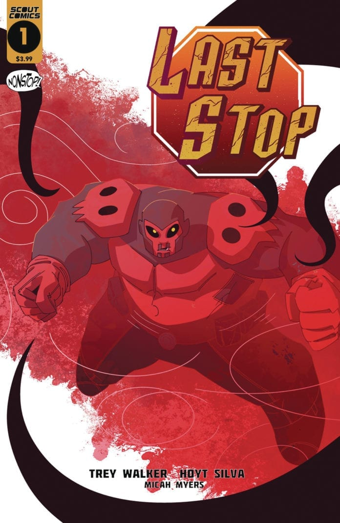 SCOUT COMICS Announces New Series  LAST STOP Coming This Fall 1