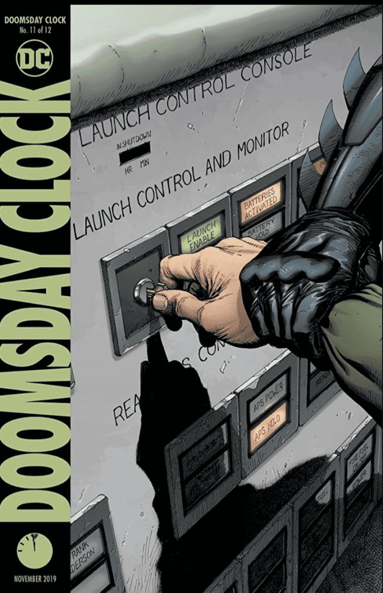 Doomsday Clock 11 cover