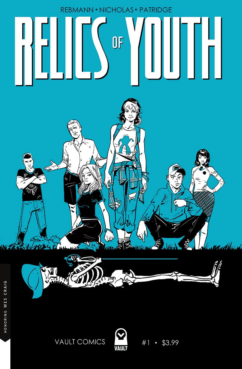RELICS OF YOUTH #1 Brings The Spirit Of 80's Adventure Films To Comics 1