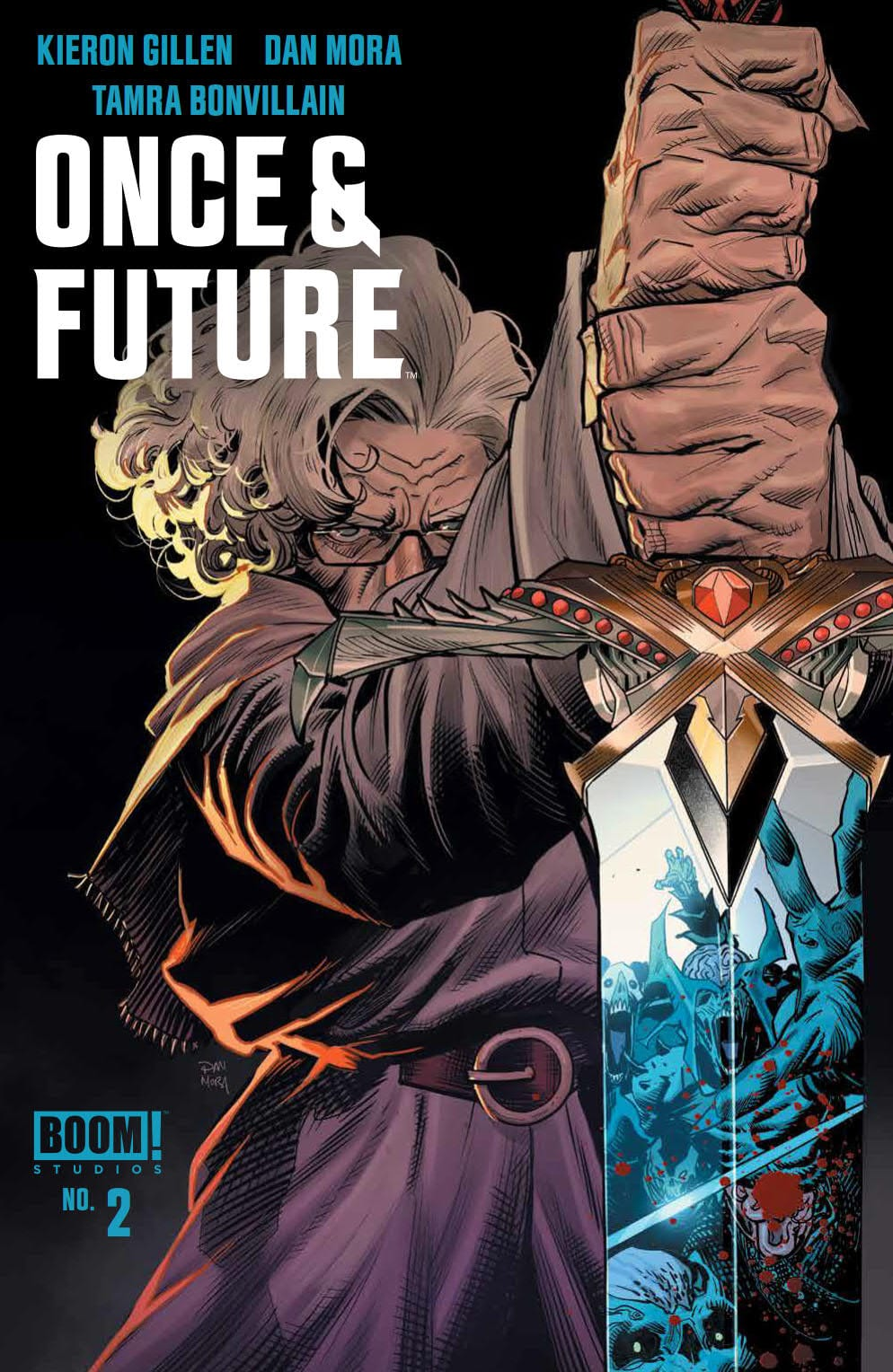 A Dark King Rises In ONCE & FUTURE #2 1