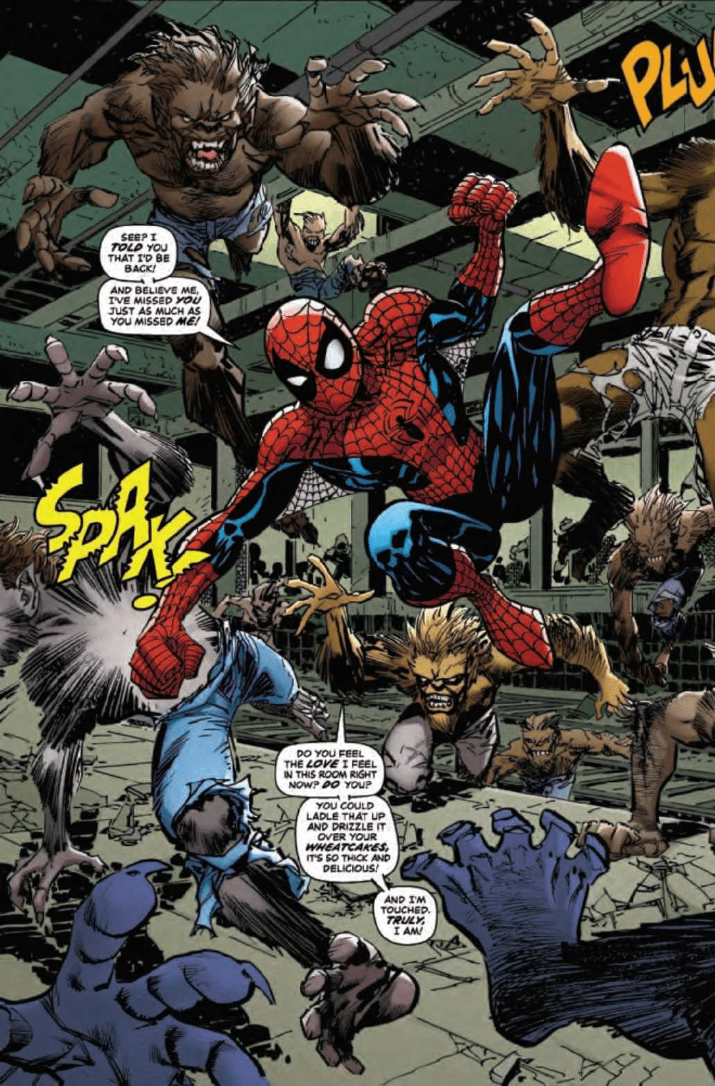 AMAZING SPIDER-MAN: GOING BIG #1 - Welcome Back To The 90s 2