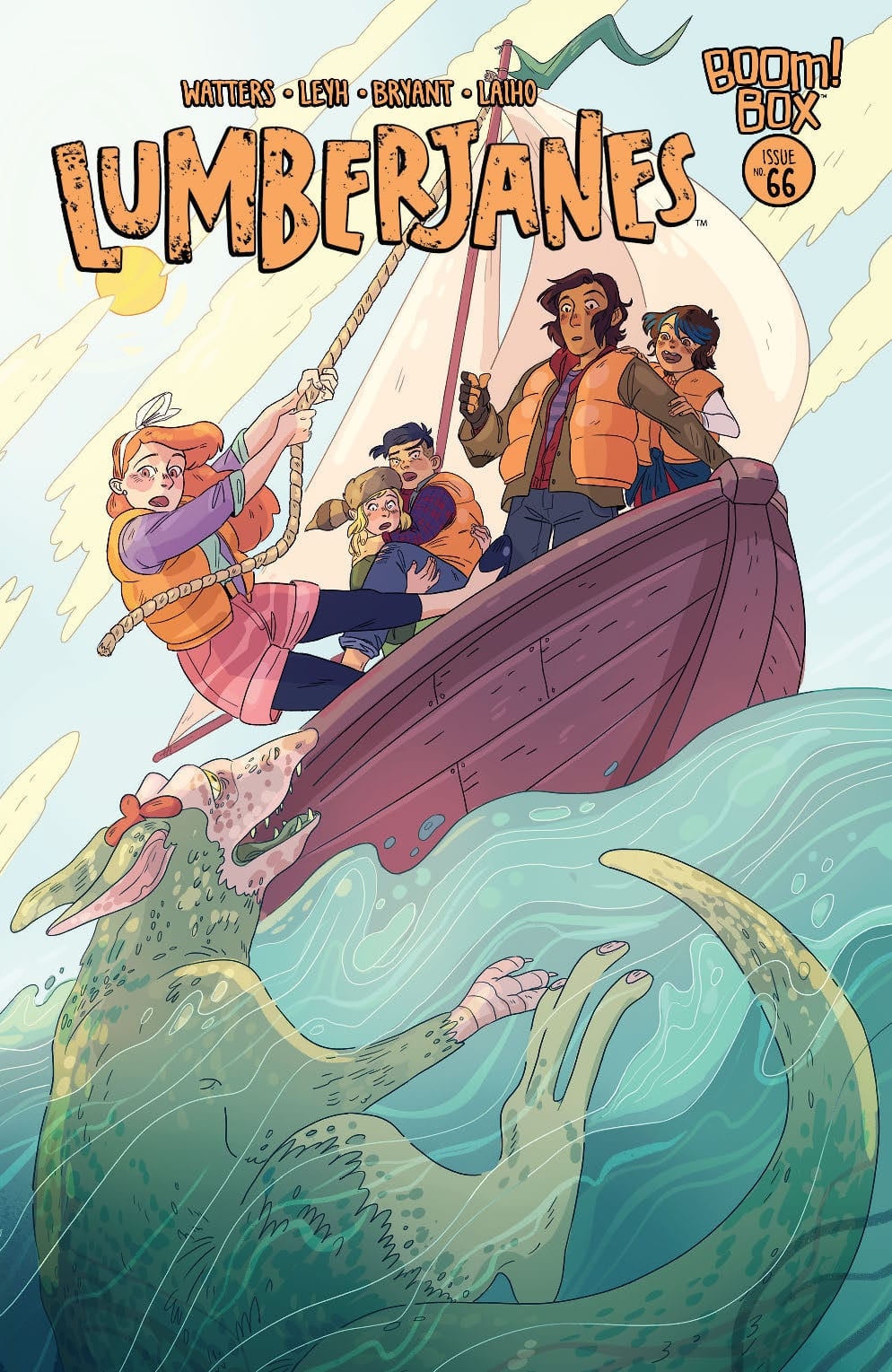 How the Gods Fool Us All in LUMBERJANES #66 2